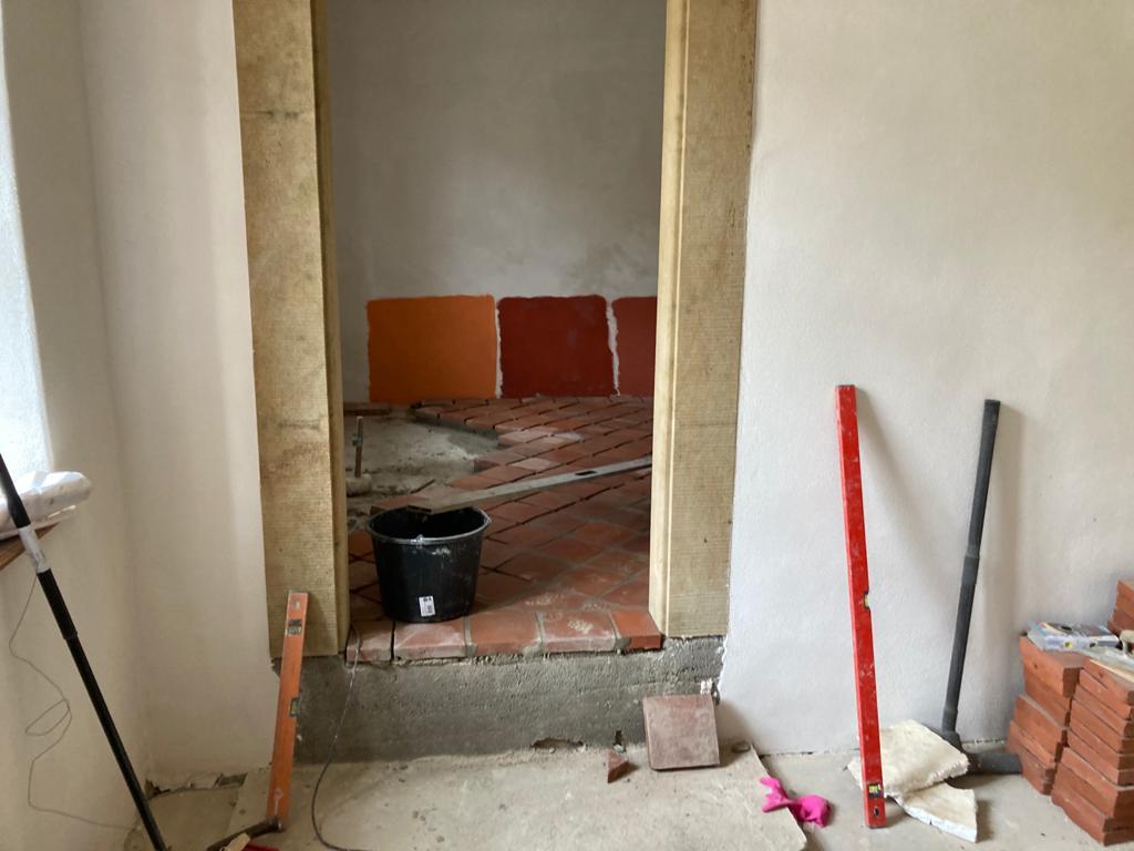Bauarbeiten Neue Vinothek Schloss Proschwitz